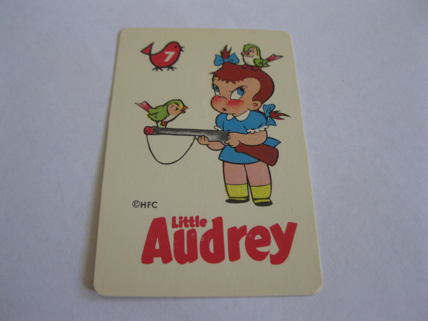 1960's Harvey Comics Edu-Card: Little Audrey