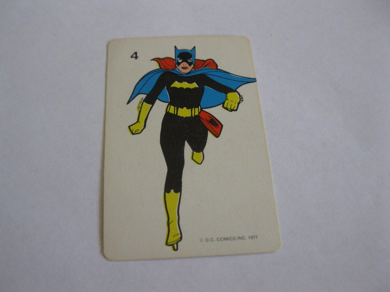 1977 DC Comics Game Card #4: Bat-Girl