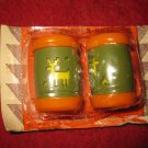 Vintage St. Labre Native American Indian School Salt & Pepper Shakers - Brand new in package