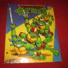 Vintage 1992 Teenage Mutant Ninja Turtles School Folder - 3 ring binder style