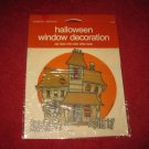 vintage American Greetings Halloween Window Decoration #DH-43: Haunted House - MISP