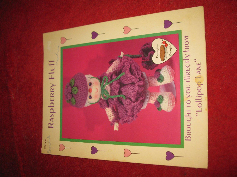 1984 Lollipop Lane 'Dumplin Designs' Doll pattern folder #CDC410: Raspberry Fluff