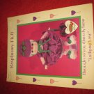 1984 Lollipop Lane 'Dumplin Designs' Doll pattern folder #CDC410: Raspberry Fluff
