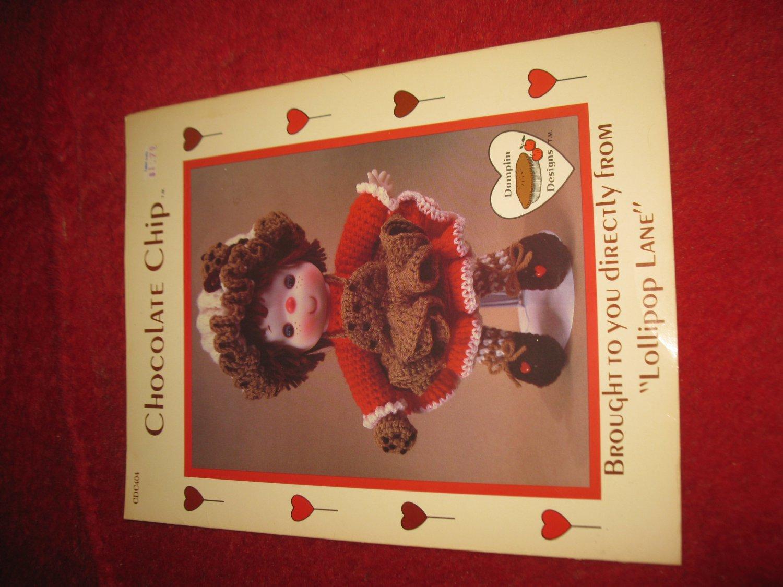 1984 Lollipop Lane 'Dumplin Designs' Doll pattern folder #CDC404: Chocolate Chip