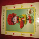 1984 Lollipop Lane 'Dumplin Designs' Doll pattern folder #CDC408: Watermelon Slice
