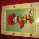 1984 Lollipop Lane 'Dumplin Designs' Doll pattern folder #CDC408: Watermelon Slice