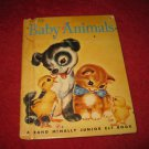 1955 Junior Elf Hardcover book #8071: Baby Animals - by Naomi Zimmerman