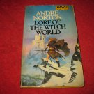 1980 DAW SciFi #400 , UJ1560: Lore of the WitchWorld - by Andre Norton - paperback