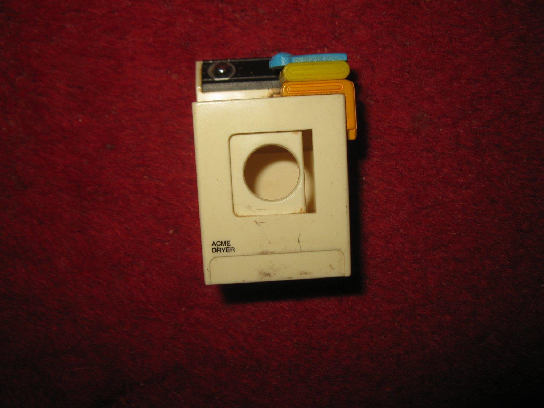Vintage 1990's ACME Small Appliances Miniature Fridge Magnet: Clothes Dryer