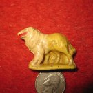 Vintage 1960's Auburn Rubber Miniature Playset figure: Collie Sheep Herder dog