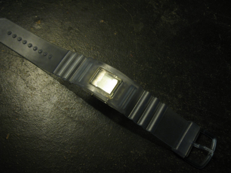 silicone band kid's digital watch