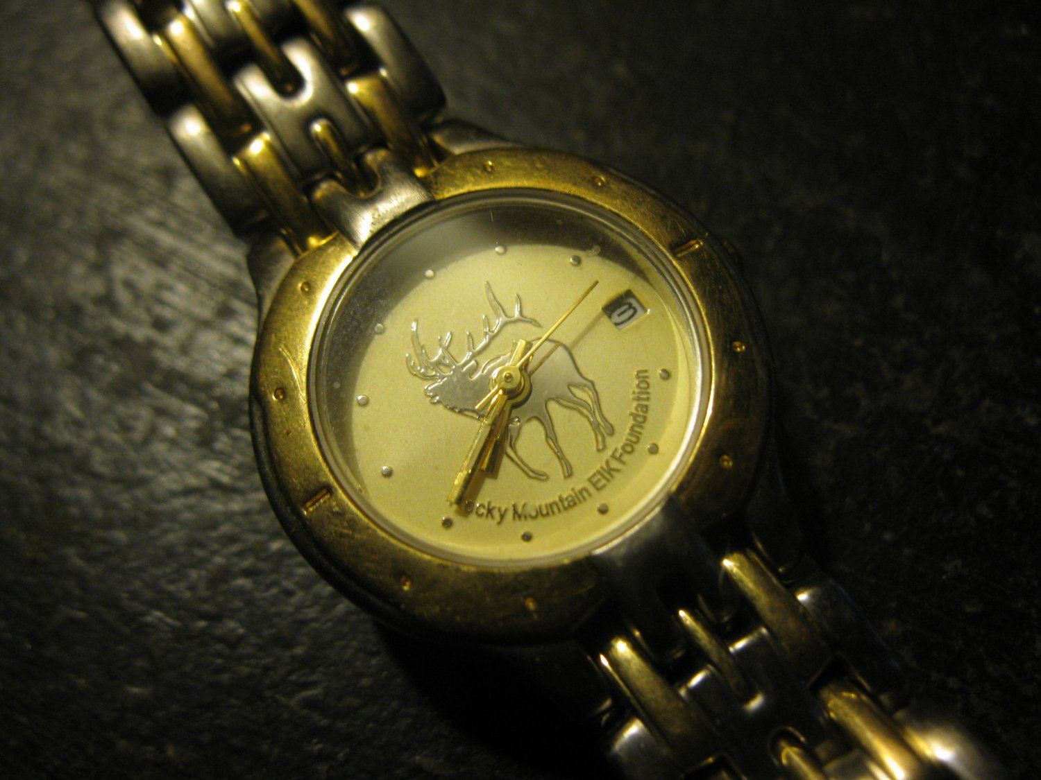 Ladies Reliance by Croton Watch: Rocky Mountain ELK Foundation, Water Resistant 100ft