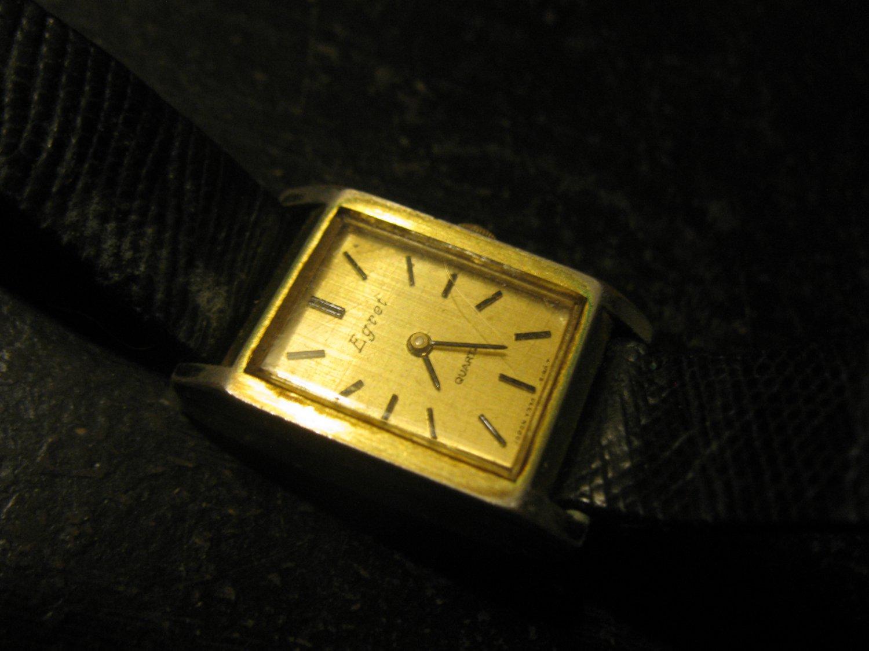 vintage Egret Ladies Wrist Watch w/ Spiedel Band