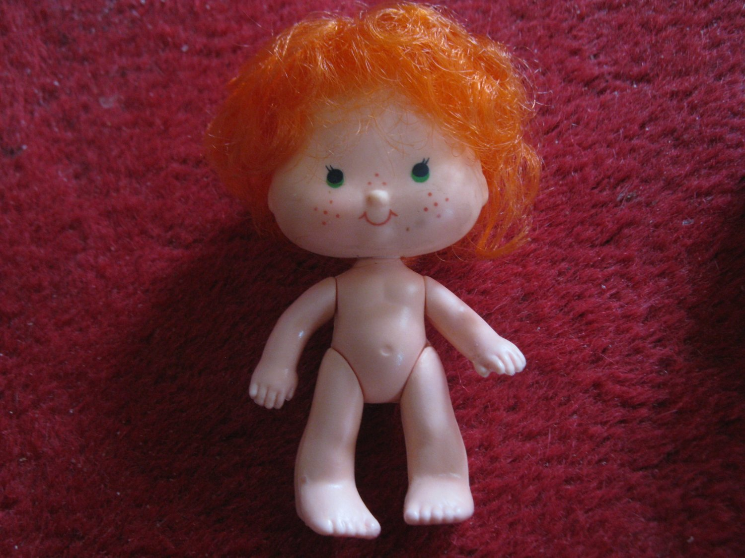 vintage 1980's Strawberry Shortcake Doll #4