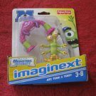 Brand New 2012 Fisher-Price Imaginext Monsters University Figure Set: Art, Terri & Terry