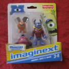 Brand New 2012 Fisher-Price Imaginext Monsters University Figure Set: Johnny, Chet & Omar