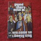 Grand Theft Atuo III, Liberty City : Playstation 2 PS2 Video Game Instruction Booklet