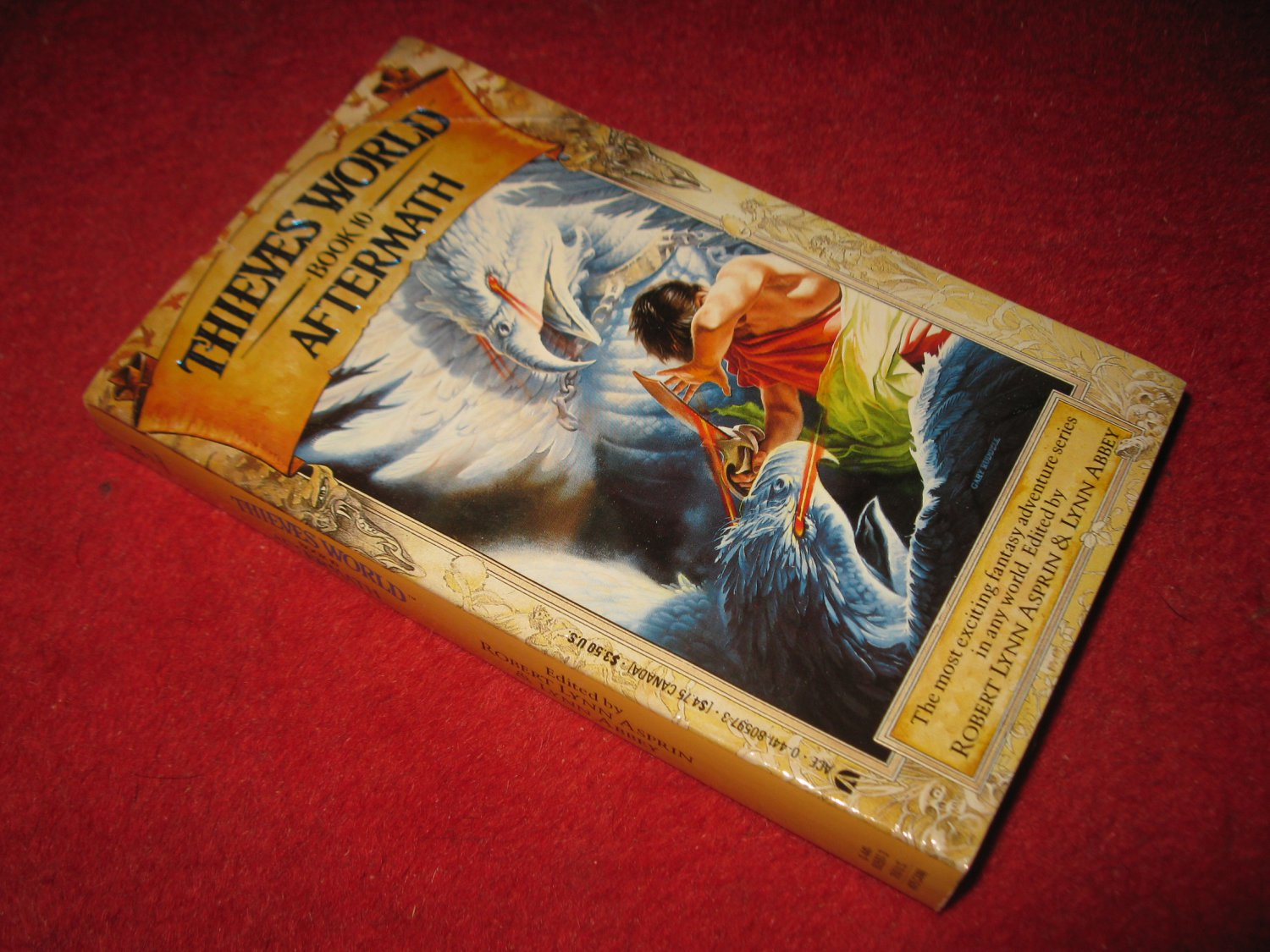 1987 Thieves World #10: Aftermath - Ace books - paperback