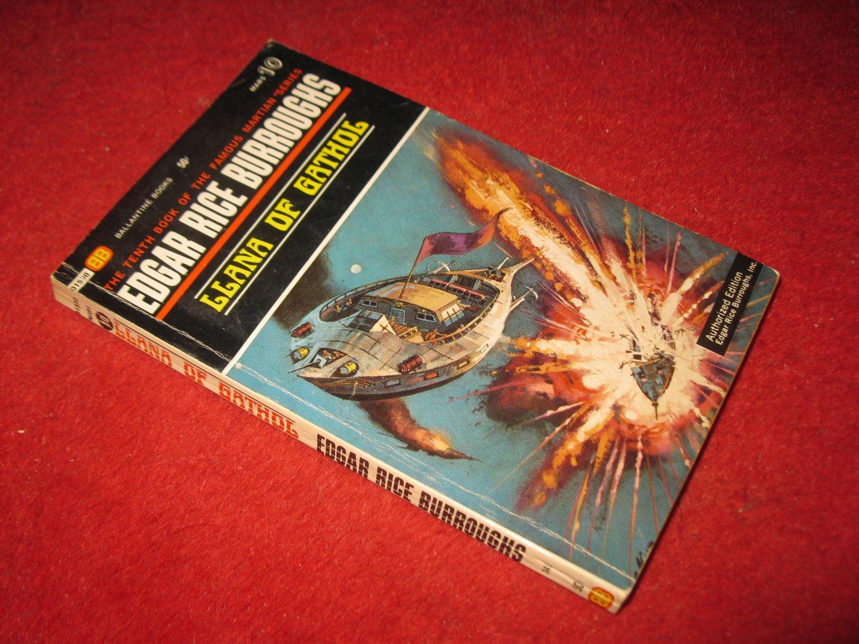1969 Mars #10: LLana of Gathol - by Edgar Rice Burroughs - Ballantine books - paperback