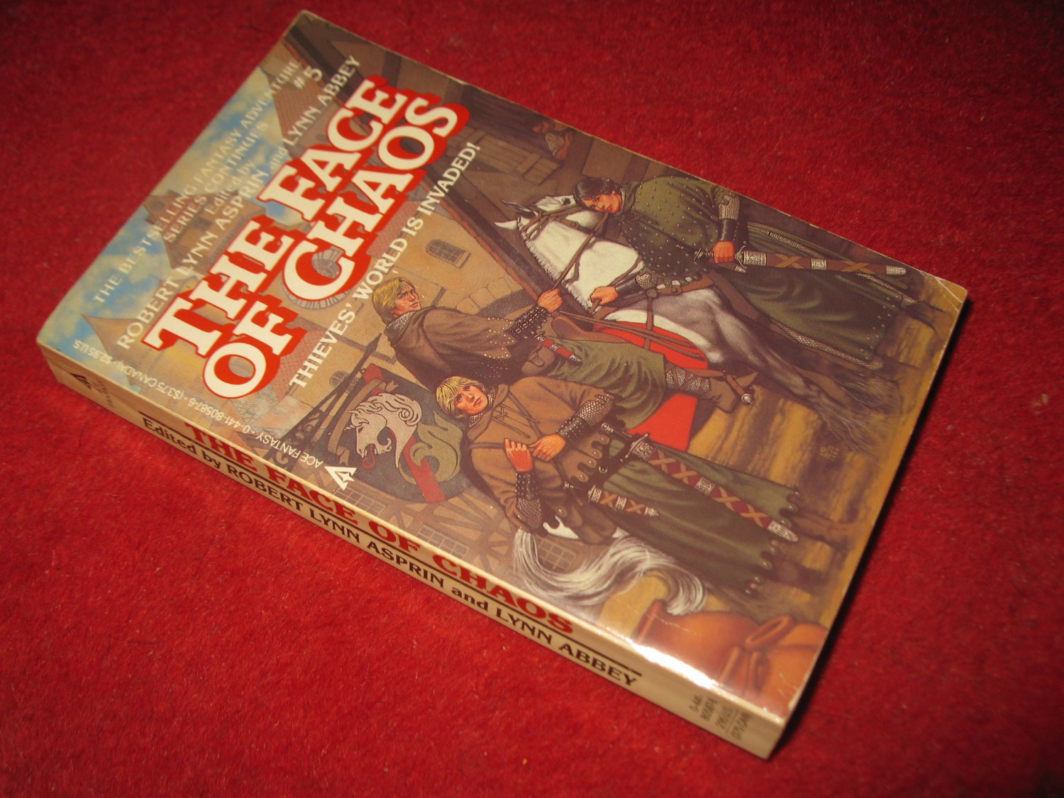 1984 The Face of Chaos (after thieves world #5) - by Robert Lynn Asprin - Ace books - paperback