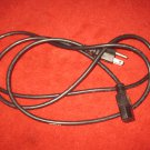 3 prong computer or gaming system power cord, 6 foot , used