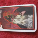 1981 DragonMaster Board game playing card: Eldred, Wizard of Warriors