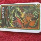 1981 DragonMaster Board game playing card: Dragon