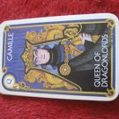 1981 DragonMaster Board game playing card: Camille, Queen of Dragonlords