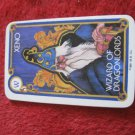 1981 DragonMaster Board game playing card: Xeno, Wizard of Dragonlords