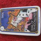 1981 DragonMaster Board game playing card: Basil, King of Dragonlords