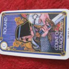 1981 DragonMaster Board game playing card: Roland, Count of Dragonlords