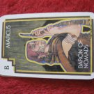 1981 DragonMaster Board game playing card: Marcus, Baron of Nomads