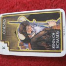 1981 DragonMaster Board game playing card: Orestes, King of Nomads