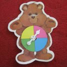 1984 Care Bears- Warm Feeling Board Game Replacement part: Bear Spinner