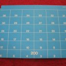 1973 Sub Search Board Game Replacement part: Cardboard Water Level 200