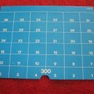 1973 Sub Search Board Game Replacement part: Cardboard Water Level 300