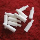 1973 Sub Search Board Game Replacement part: lot of 10 white MISS Markers