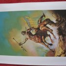 "vintage Boris Vallejo: A Private Cosmos - 11.5"" x 8.5"" Book Plate Print"
