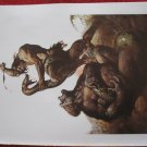"vintage Boris Vallejo: Tarzan, Lord of the Jungle - 11.5"" x 8.5"" Book Plate Print"