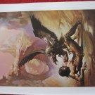 "vintage Boris Vallejo: Tarzan the Untamed - 11.5"" x 8.5"" Book Plate Print"