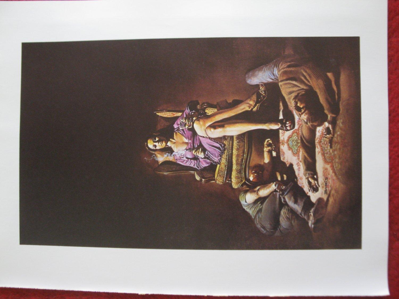 "vintage Boris Vallejo: Hatchett - 11.5"" x 8.5"" Book Plate Print"