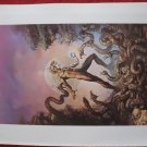 "vintage Boris Vallejo: The Secrets of Synchronocity - 11.5"" x 8.5"" Book Plate Print"