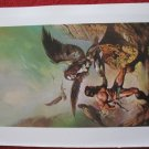"vintage Boris Vallejo: The Maker of Universes - 11.5"" x 8.5"" Book Plate Print"