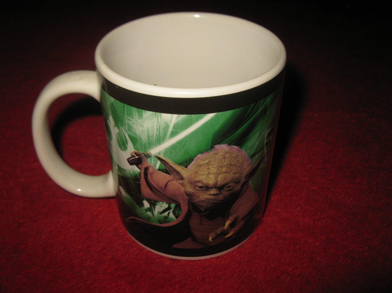 2008 Star Wars Coffee Cup: Yoda & Chewbacca