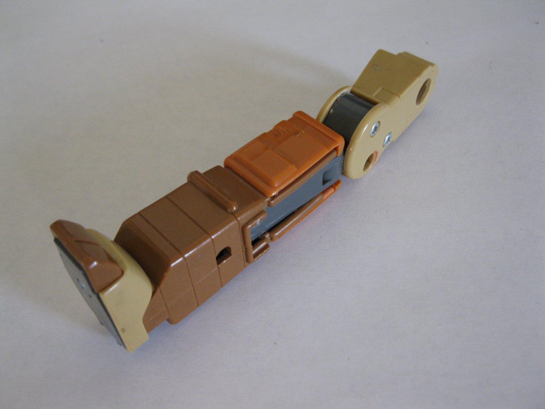 G1 Transformers Action figure part: 1986 Wreck-Gar - Full Right Leg