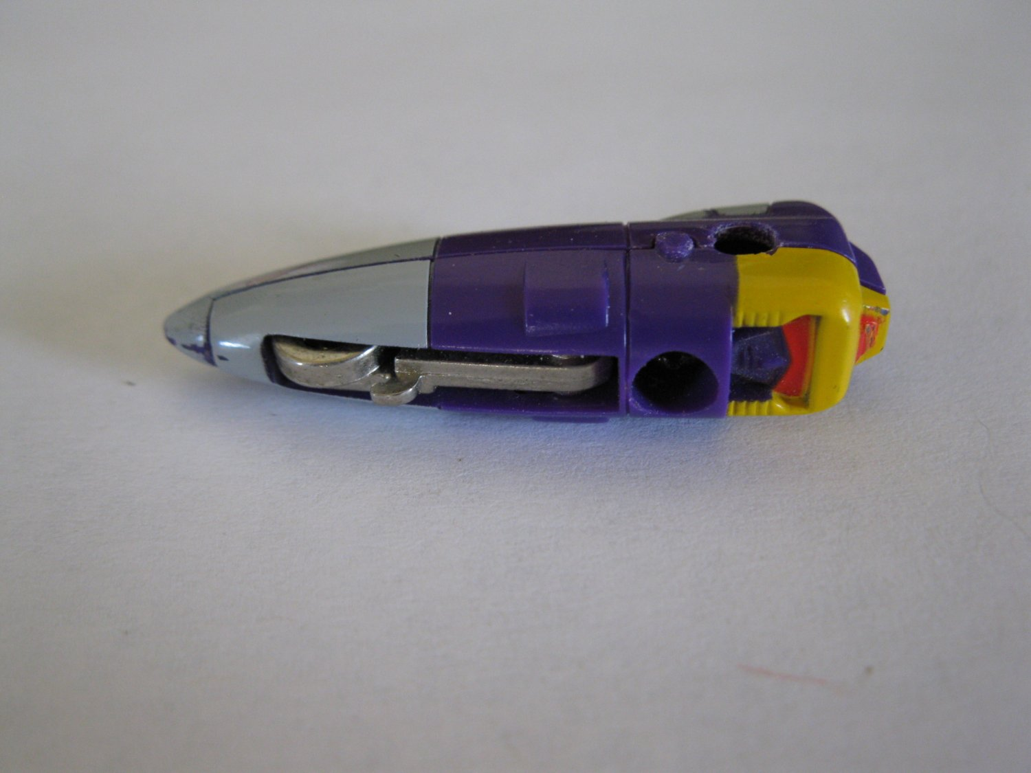 G1 Transformers Action figure part: 1985 Blitzwing - Head / Nosecone