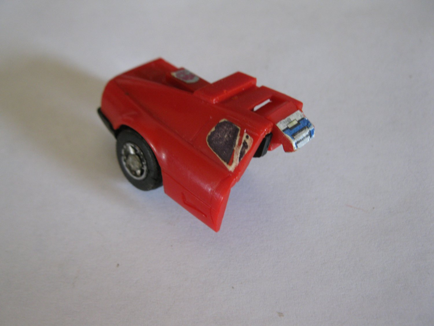 G1 Transformers Action figure part: 1984 Overdrive - Right Rear Quarter Panel W/ Wheel