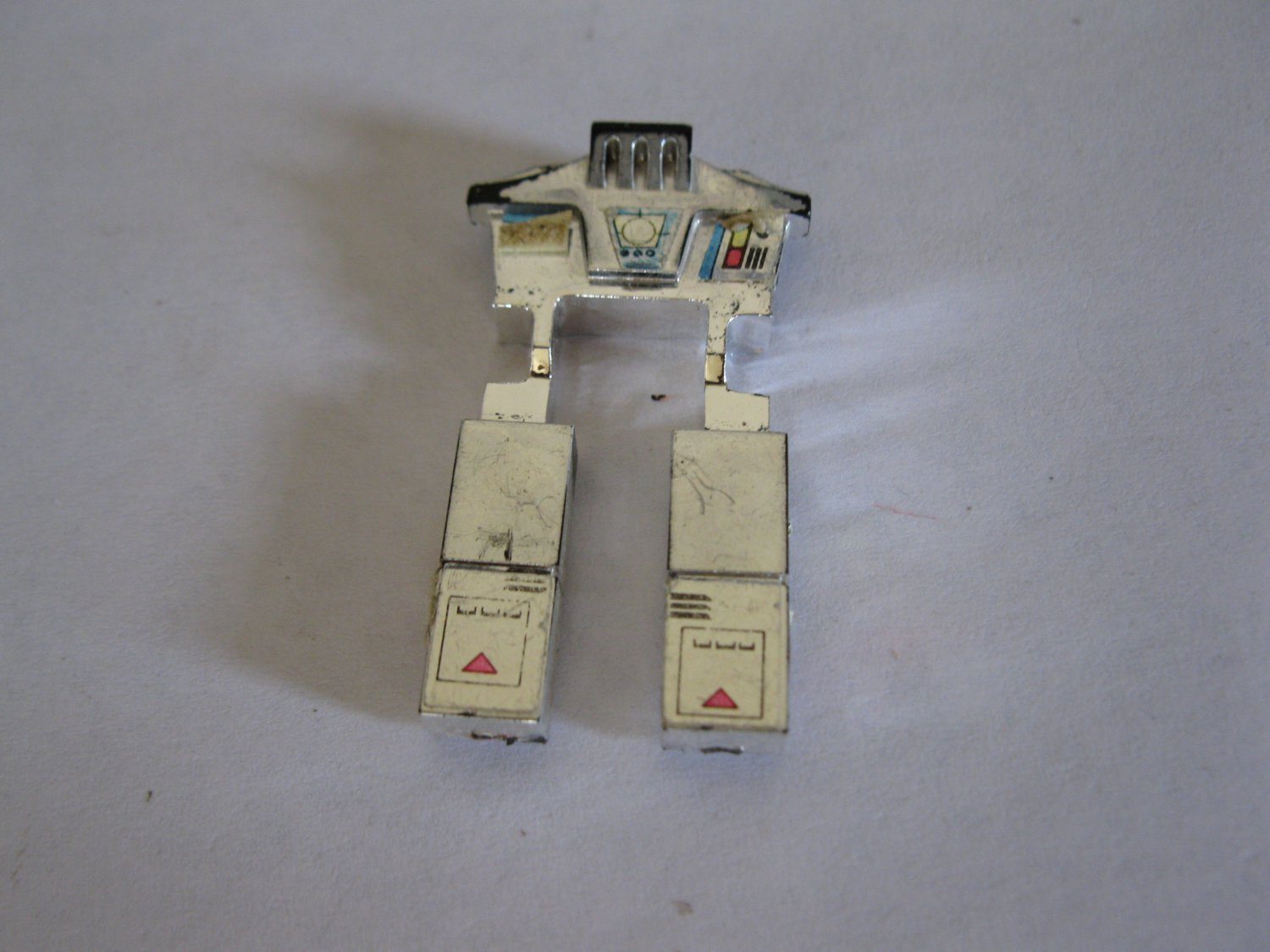 G1 Transformers Action figure part: 1984 Overdrive - Chrome Legs Front