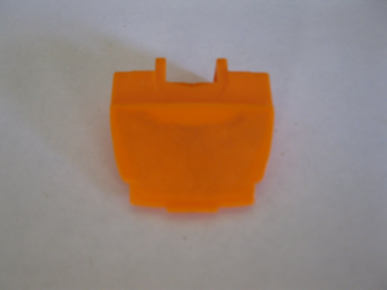 G1 Transformers Action figure part: 1986 Rodimus Prime - Orange Chest Plate