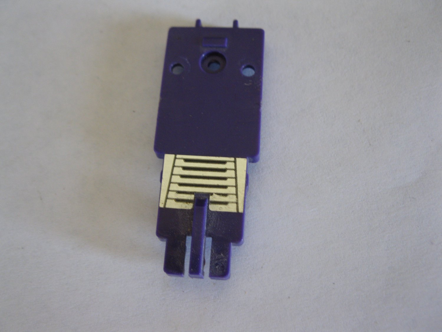 G1 Transformers Action figure part: 1984 Bonecrusher - Purple Body Front Section